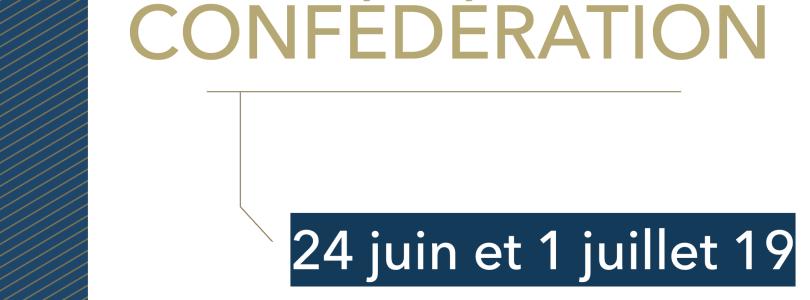24 juin et 1 juillet : nos clinique seront fermées