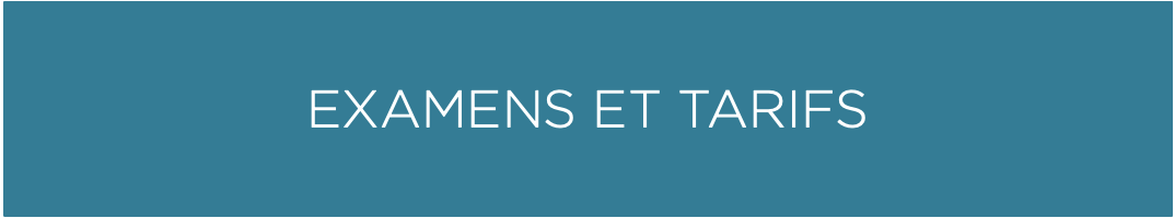 BOUTON_EXAMENS ET TARIFS BLEU